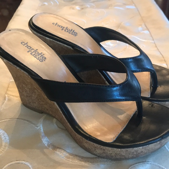 731240168d3879 Charlotte Russe Shoes - Charlotte Russe Wedge Sandals